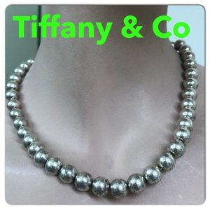 🔴Authentic TIFFANY & CO Bead Necklace 🔴🎈❤️